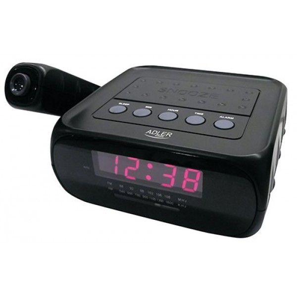 #Projektion #Uhrenradio Radiowecker #Projektionsuhr #Projektionswecker Uhr AM/FM #Radio Wecker