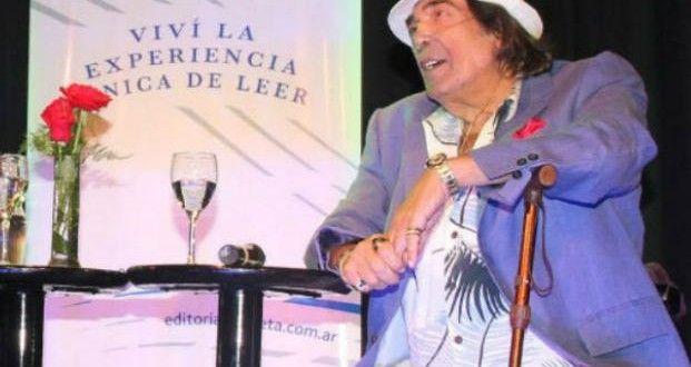 "Cacho Castaña presentó, ""Vida de artistas"", su primer libro – Panorama Rosario"