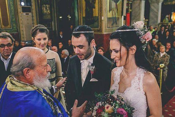 STEFANA & Stefanothiki Greek Crowns / Orthodox Greek by LakaLuka