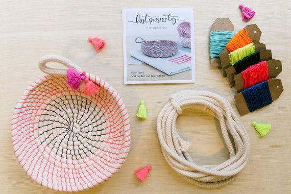 Bobine corde bol tutoriel et matériaux. par LostPropertyHongKong