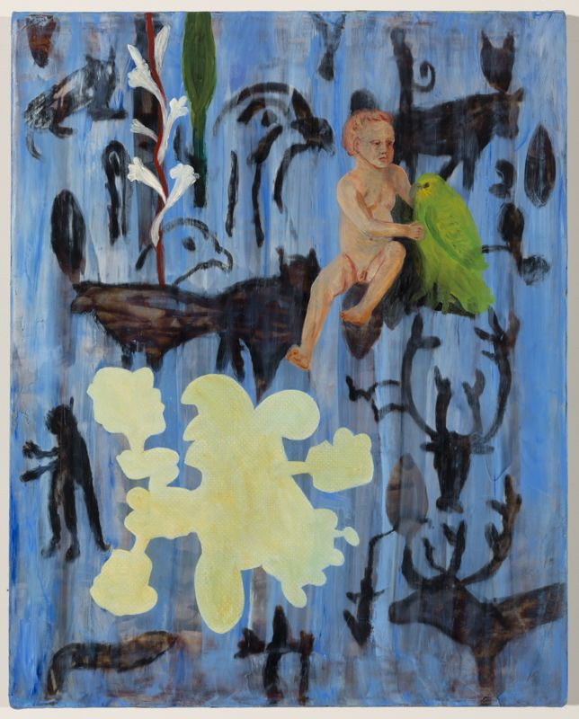 Barbara Tuck, Temple Gate, 1999, Oil on canvas, 508 x 405mm, from Iris Gate