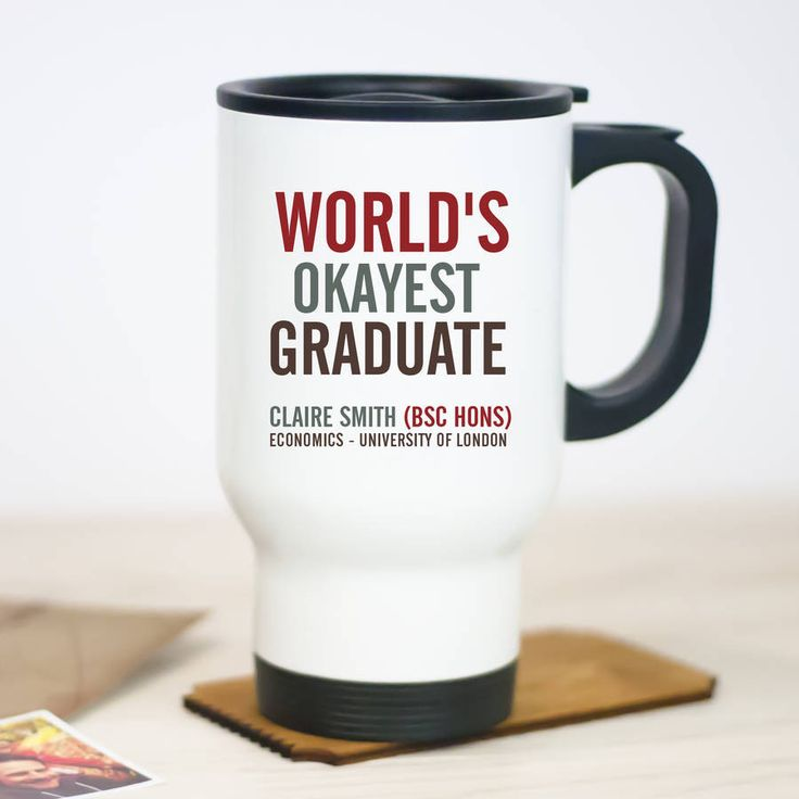 Graduation Travel Mug – Little Pieces