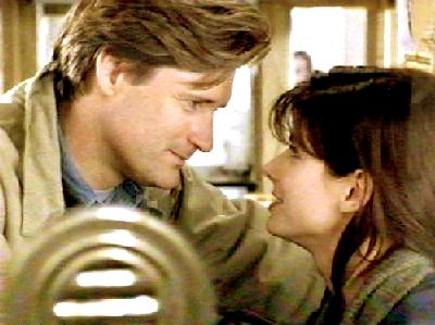 """Peter once asked me when I fell in love with Jack. And I told him, 'It was while you were sleeping.'""   - Lucy, portrayed by Sandra Bullock in While You Were Sleeping (1995)"