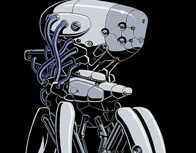 "Check out new work on my @Behance portfolio: ""Brainbot"" http://be.net/gallery/62645207/Brainbot"