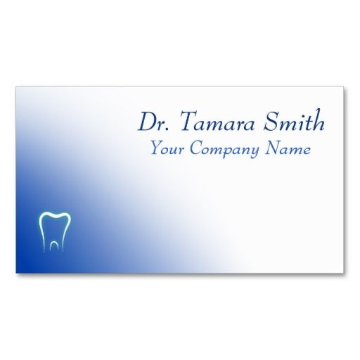 Medical Business Card Template Design Dental, Dentist Office - medical business card templates