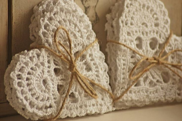 Crochet Hearts Inspiration ❥ 4U // hf