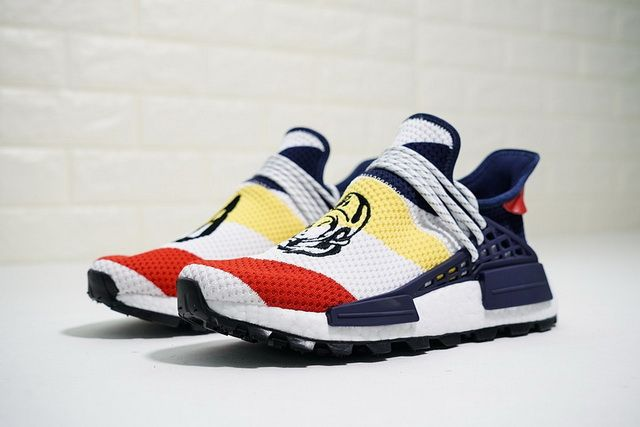 2e7ed39a8256a 2018 Official Mens Womens sneakers BBC x Pharrell x adidas NMD Hu Trail  Heart Mind F99766 Hot Sale