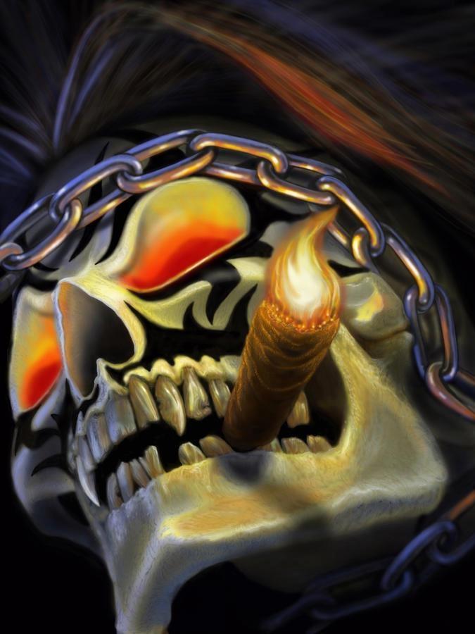 .bad ass!!!!: Badass, Bad Ass, Amey Art, Skulls Skulls, Skulls Art, Cigars Art, Skulls Stuff, Smoking Skulls, Ass Cigars