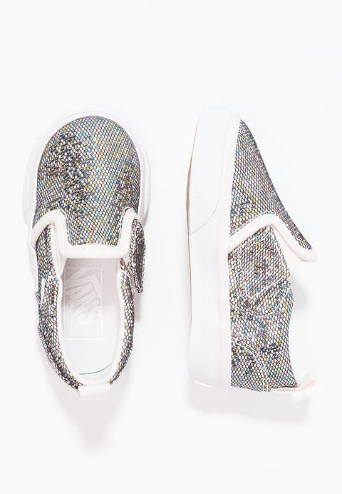 Maat 27 Schoenen Vans ASHER - Instappers - glitter multicolor zilverkleurig: € 34,95 Bij Zalando (op 31-1-17). Gratis bezorging & retournering, snelle levering en veilig betalen!