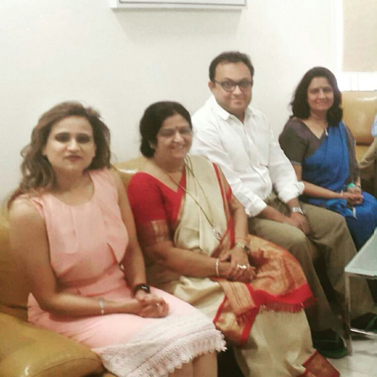With Professor Meera Agnihotri head Dept Ob Gyn GSVM Medical College Kanpur at SCI International hospital New Delhi