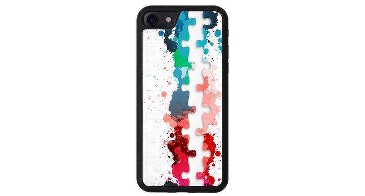 Casse-tête colorés iphone 4 5 6 7 samsung S3 S4 S5 S6 S7 S8 edge note plus LG G3 G4 G5 G6 Moto G G2 E X Play Z HTC  5X 6P Pixel de la boutique MeMCase sur Etsy
