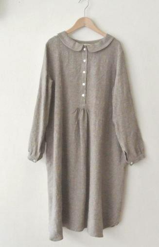 LINNET linen dress