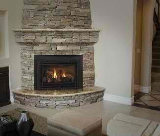 rounded corner fireplace | Projects to Try | Pinterest | Fireplaces ...