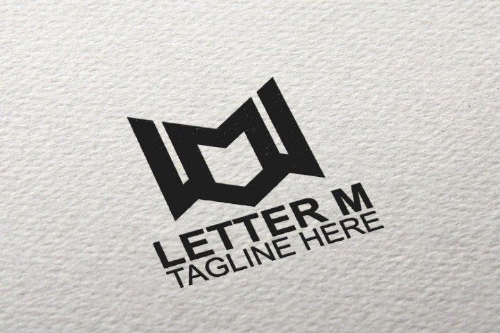 Huruf M Logo Oleh Eightlogo Letter M Logo Lettering Colorful Prints