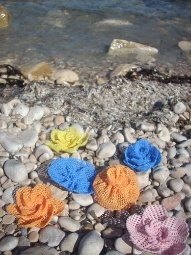 *Flowers of the sea* Hair - Fiori del mare, per capelli.