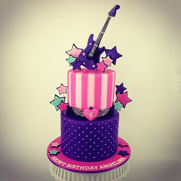 Rock Star Princess cake