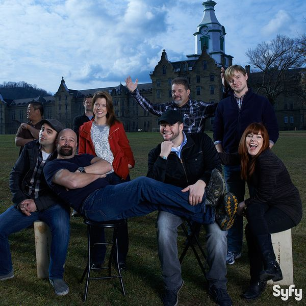 Ghost Hunters Cast at.... The Trans Allegheny Lunatic Asylum....