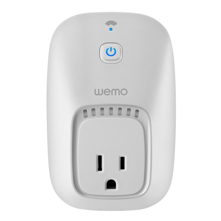 Amazon.com: WeMo Switch, Wi-Fi Enabled, Control your Electronics from anywhere, Compatible with Amazon Echo: Cell Phones & Accessories
