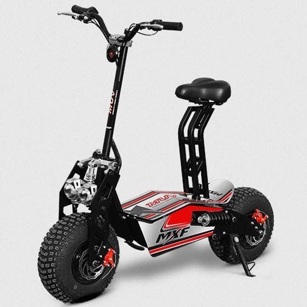 Elektroroller 45kmh Elektroscooter 48v Freilauf E Scooter 1 600w Rot Sport Funsport Elektro Scooter Ebay Scooter Bike E Scooter Electric Scooter