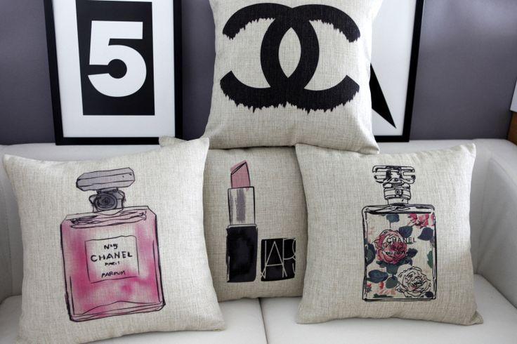 Perfume almohada fundas de cojines cojín de la silla cubierta / capa de almofada decorativas en Fundas de Cojines de Casa y Jardín en AliExpress.com   Alibaba Group