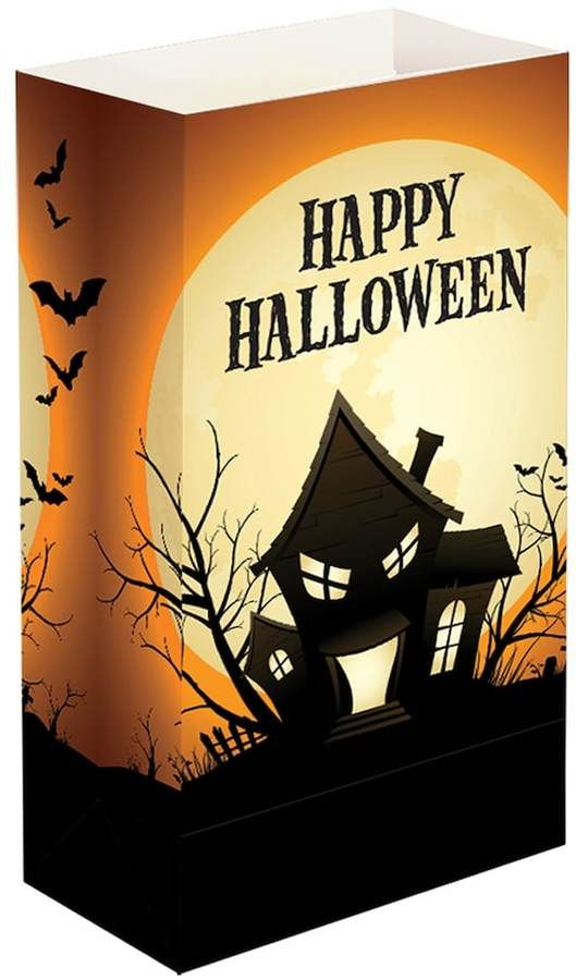 happy halloween luminaria bags welcome to your home with these lumabase happy halloween luminaria bags happy halloween caption adds