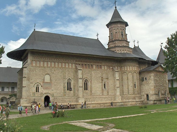 The Neamț Monastery (Romanian: Mănăstirea Neamț) is a Romanian Orthodox religious settlement, one of the oldest and most important of its kind in Romania. It was built in 15th century, and it is an example of medieval Moldavian architecture. A jewel of 15th century architecture, the church was built during Ştefan cel Mare's reign and finished in the year when the Moldavian army won the battle against King John Albert (1497).