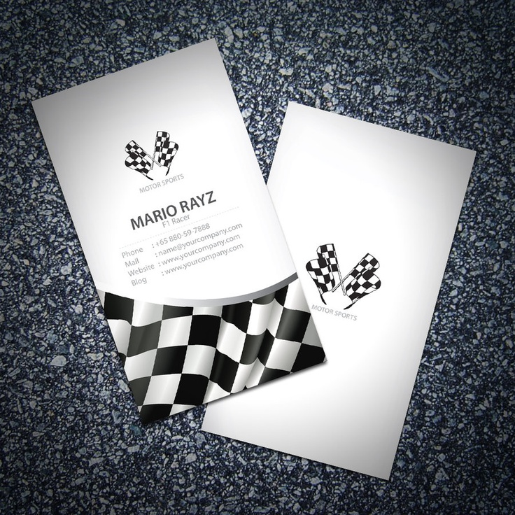 44 best business cards images on pinterest business card design f1 racer business card 05 by lemongraphic on deviantart http reheart Images