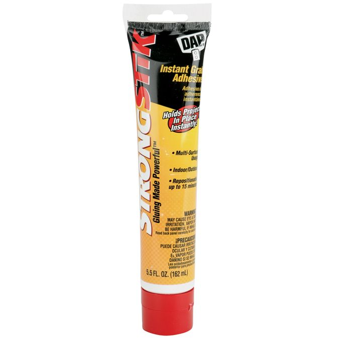 DAP Strongstik Instant Grab Adhesive-5.5 Ounces