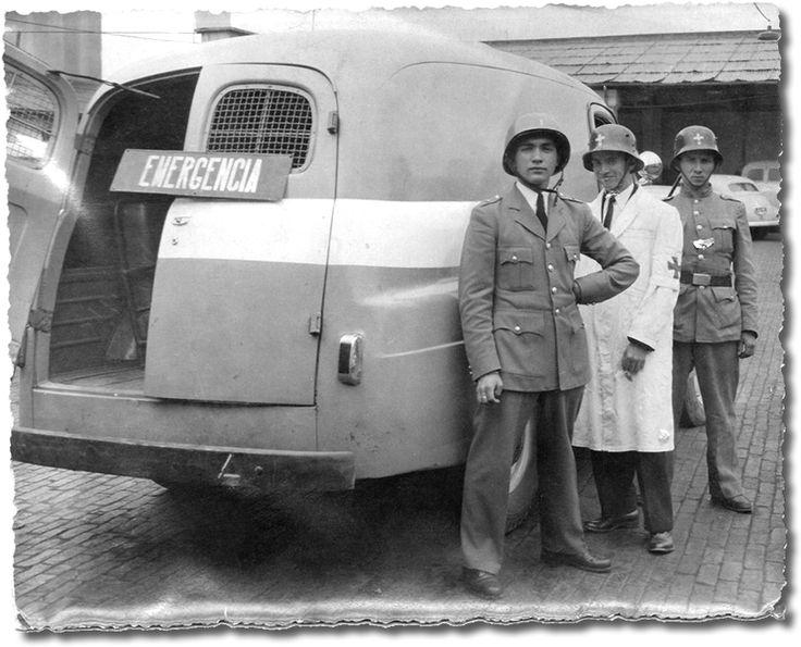 Ambulancia de la Policía Nacional