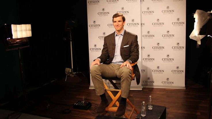 The two-time MVP partners with Citizen Watch to support their National Merit Scholarship Program www.lifeminute.tv/home-and-family/video/ny-giants-quarterback-eli-manning-helps-reward-merit-scholarships