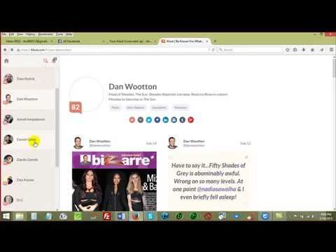 Your Klout - Social Media Influential Score... - YouTube