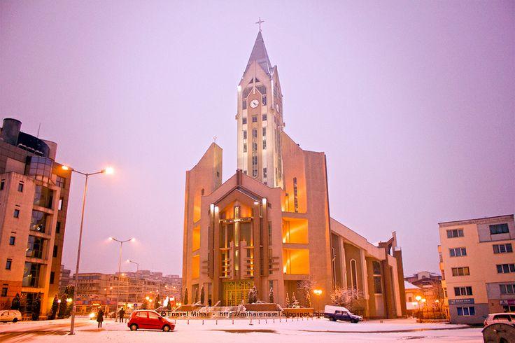 Bacău, Romania, Catholic Cathedral