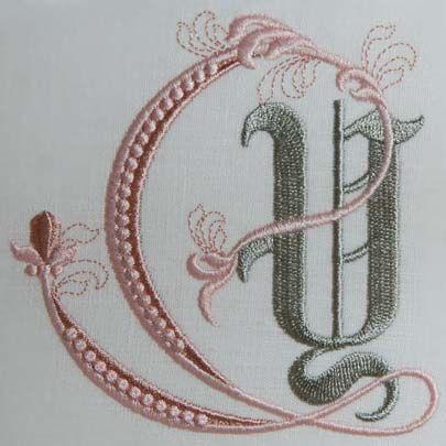 Fleur de Lis Alphabet- Y: