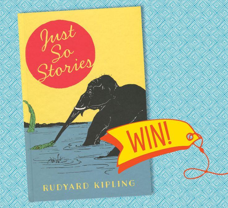 Win Rudyard Kipling's wonderful Just So Stories in Storytime Issue 29! Enter here: http://www.storytimemagazine.com/win