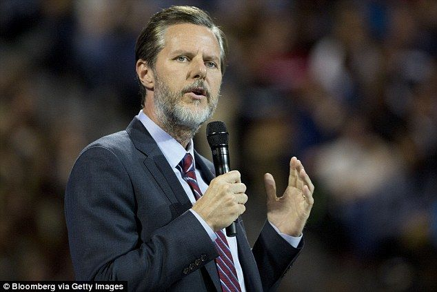 President Jerry Falwell Jr, the president of Liberty University is urging students at the Christian school to carry concealed weapons on the Virginia campus following the mass shooting in San Bernardino, California