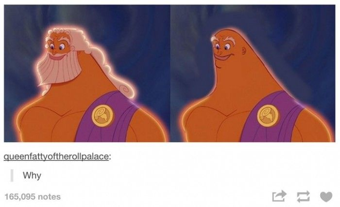 The reason Zeus didn't shave