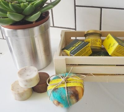 STREET CHIC TEL AVIV REVIEW, KTIMA THRINAX HANDMADE SOAP - KTIMA THRINAX