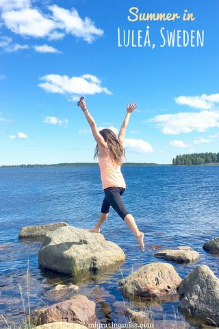 14 Reasons to Visit Luleå in Summer. Swedish Lapland in Summer. Luleå in Summer. #sweden #lapland #summer
