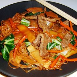Korean Chap Chee Noodles