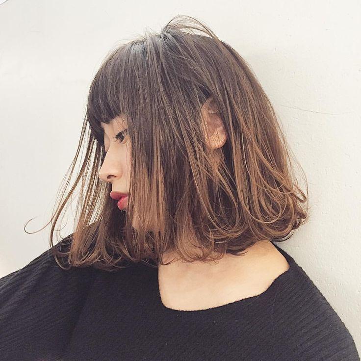 いいね!187件、コメント7件 ― 浅川 美穂 ASAKAWA MIHOさん(@asakawamiho)のInstagramアカウント: 「* 切りっぱなしロブ✨ * 甘過ぎないハンサムスタイル❤︎ * シンプルファッションもオシャレに見せてくれるスタイルです。 * ✂︎ cut ¥5300 ✂︎ cut + color…」