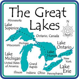 Your Lake Sandstone Coasters from Dann, Thousands of Lakes Available