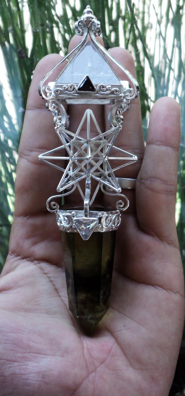 Pyramid and Star wand