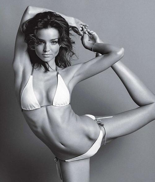 Q & A with Miranda Kerr: Yoga, Organics & Wellness | Internet Billboards: Miranda Kerr, Mirandakerr, Body, Girl, Inspiration, Fitness, Motivation, Health, Yoga