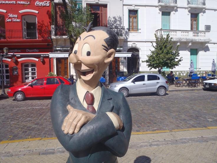 Isidoro Cañones - Paseo de la Historieta  San Telmo, Buenos Aires, Argentina
