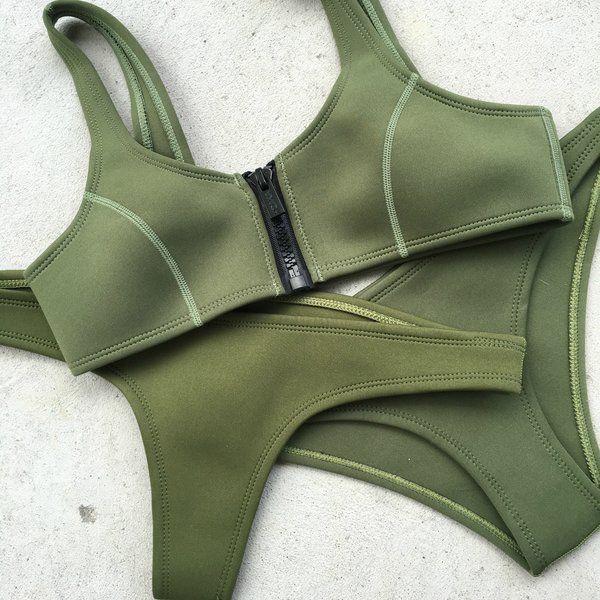 CHLOE - khaki | hoaka swimwear