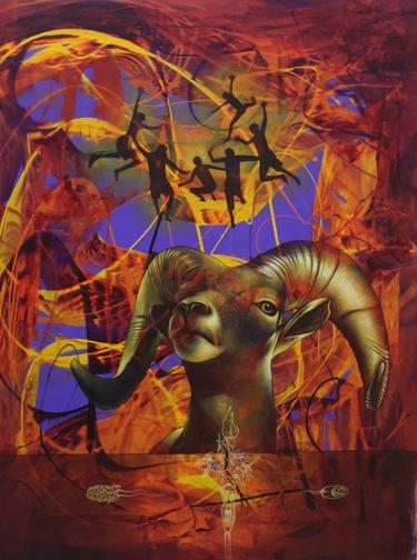 """30"""" x 40"""" - Acrylic On Canvas"""