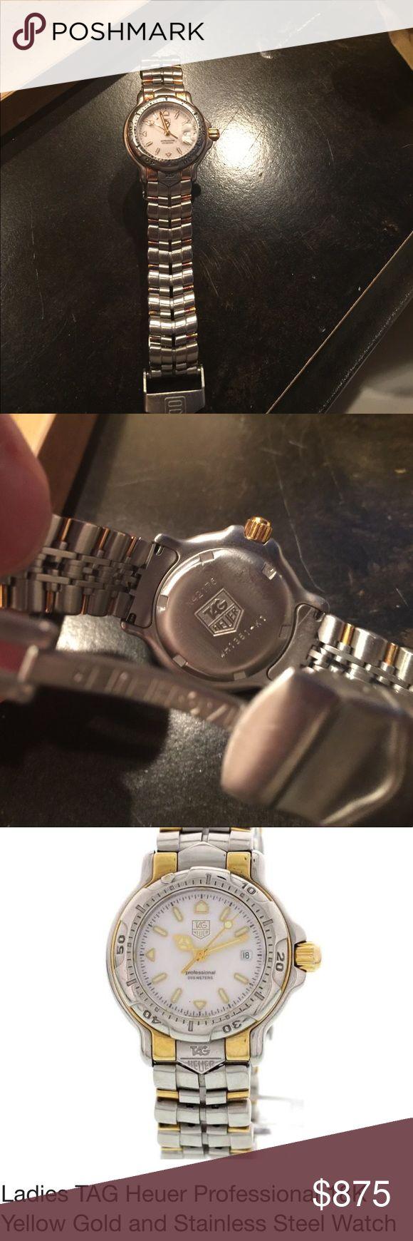 Tag Heuer Professional Ladies Watch Tag Heuer Professional Ladies Watch Tag Heuer Accessories Watches