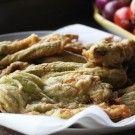 Italian Food Forever » Fried Zucchini Flowers