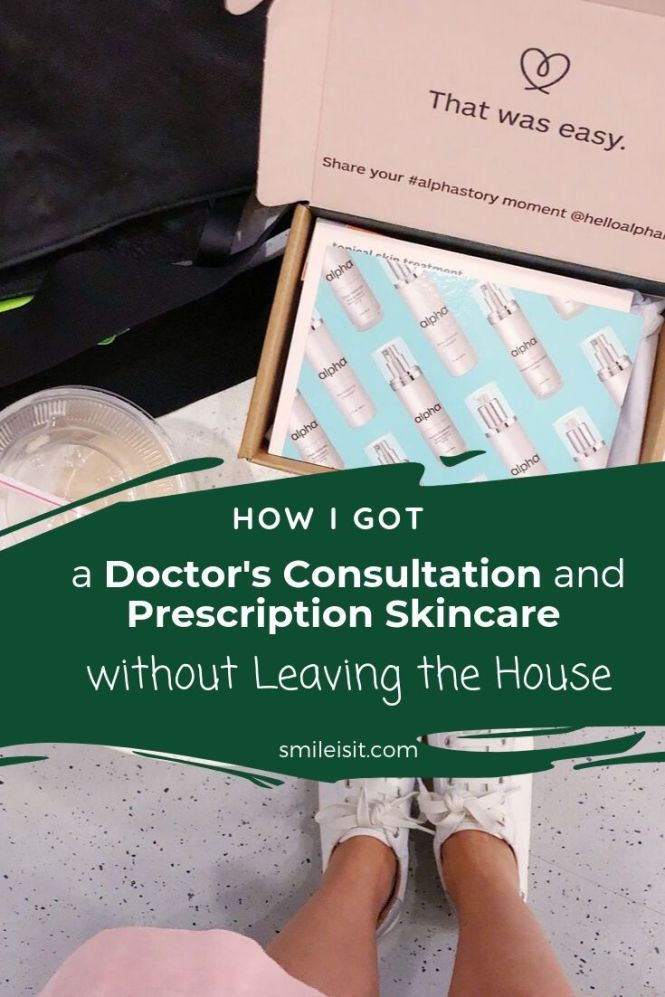 How I Got Prescription Skincare Without Leaving The House Prescription Skincare Skin Care Medical Prescription