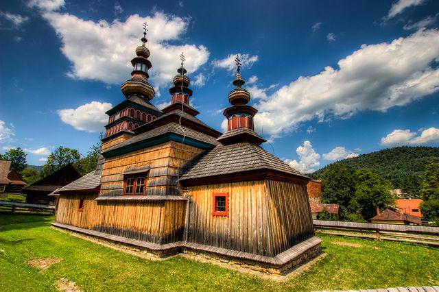 Wooden Church near Bardejov, Slovakia